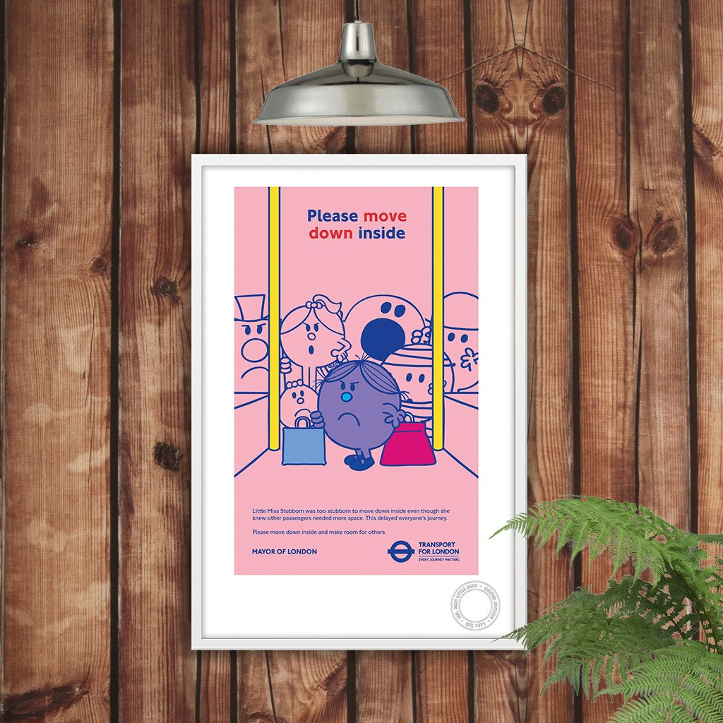 Little Miss Stubborn TFL Print