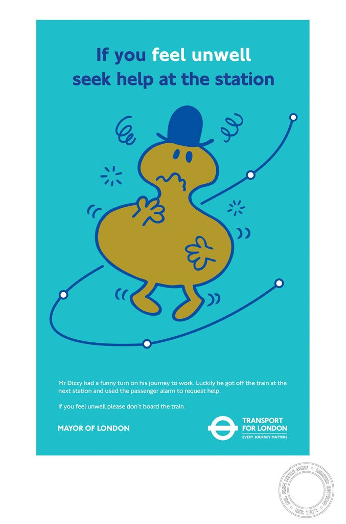 Mr. Dizzy TFL Limited Edition Print