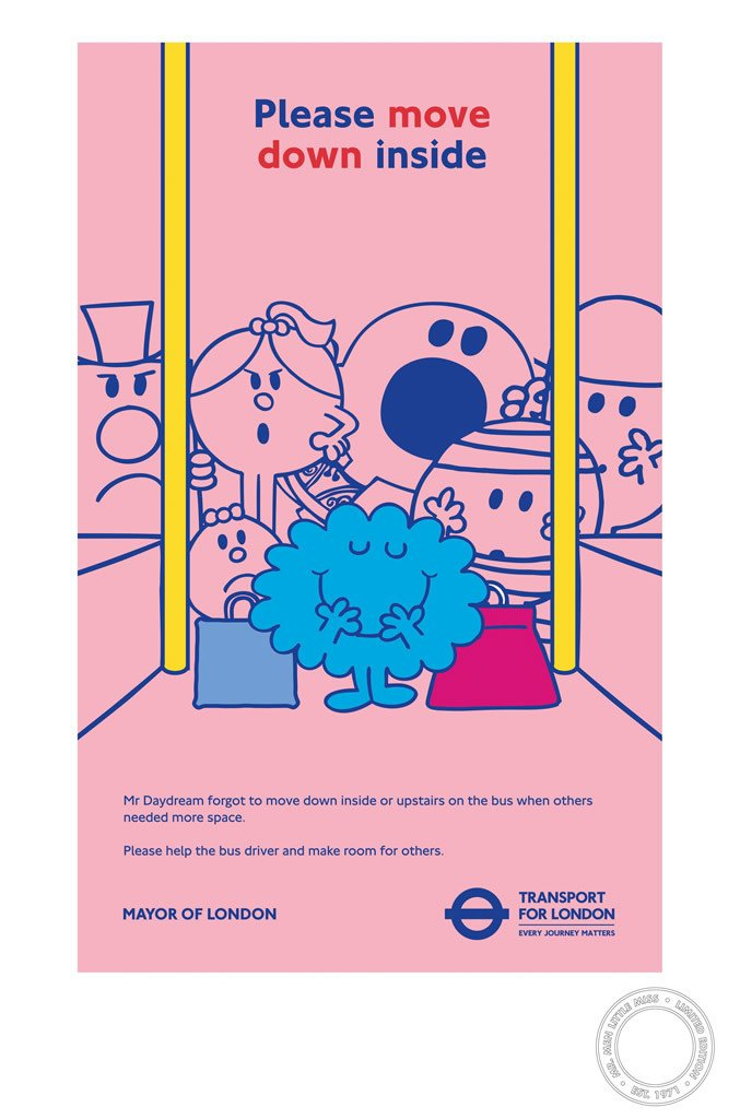 Mr. Daydream TFL Limited Edition Print