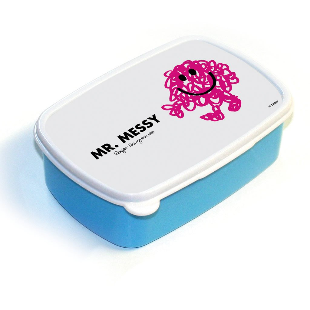 Mr. Messy Lunchbox (Blue)