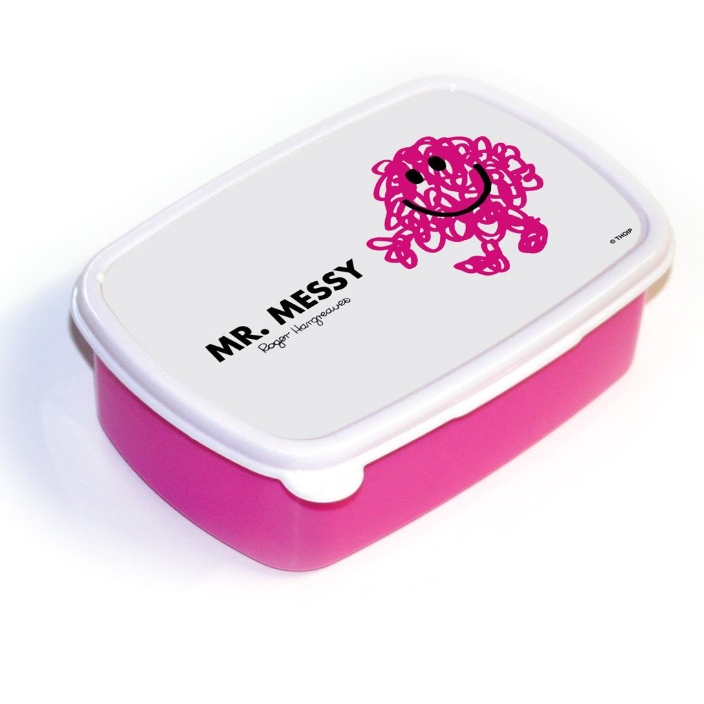 Mr. Messy Lunchbox (Pink)
