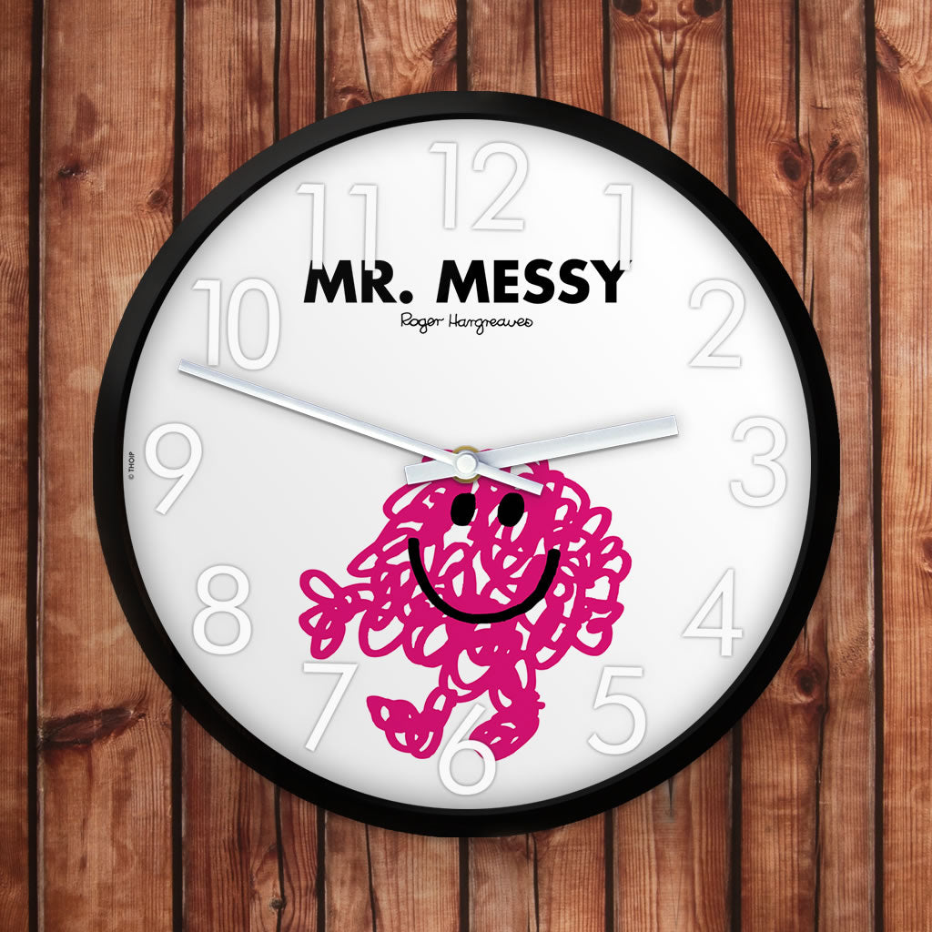 Mr. Messy Personalised Clock (Lifestyle)