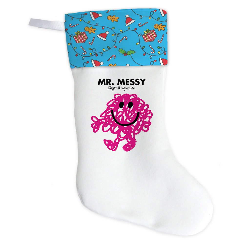 Mr. Messy Christmas Stocking (Front)