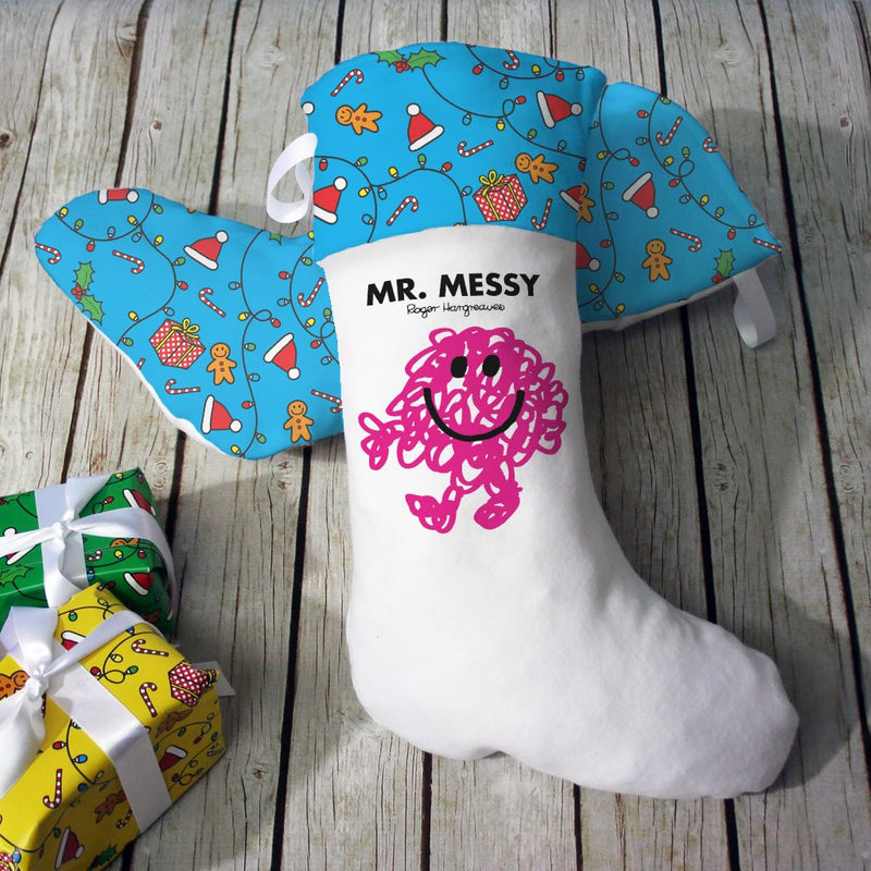 Mr. Messy Christmas Stocking (Lifestyle)