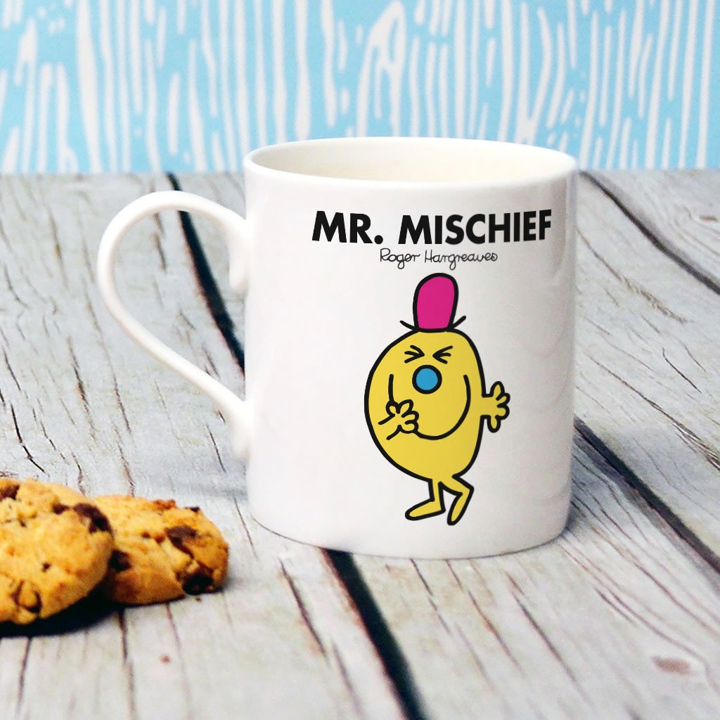Mr. Mischief Bone China Mug (Lifestyle)