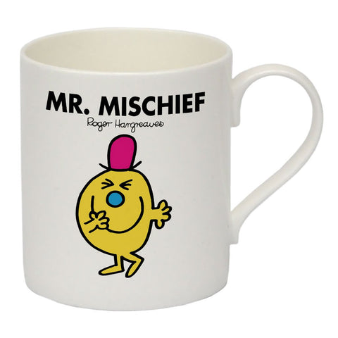 Mr. Mischief Bone China Mug