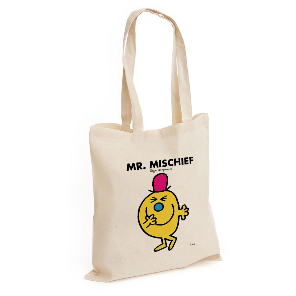 Mr. Mischief Long Handled Tote Bag