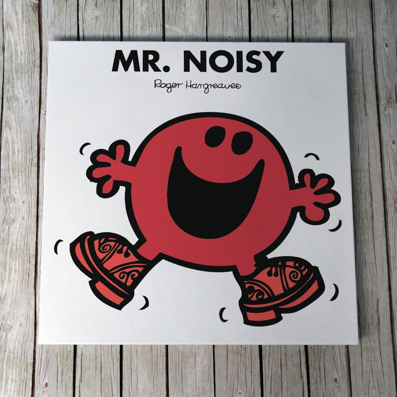 Mr. Noisy Canvas (Lifestyle)
