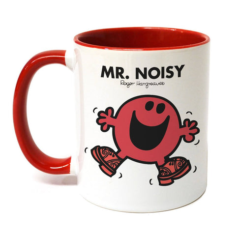 Mr. Noisy Large Porcelain Colour Handle Mug