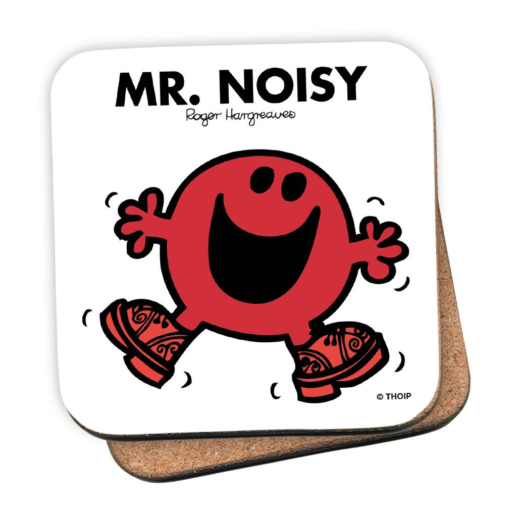 Mr. Noisy Cork Coaster