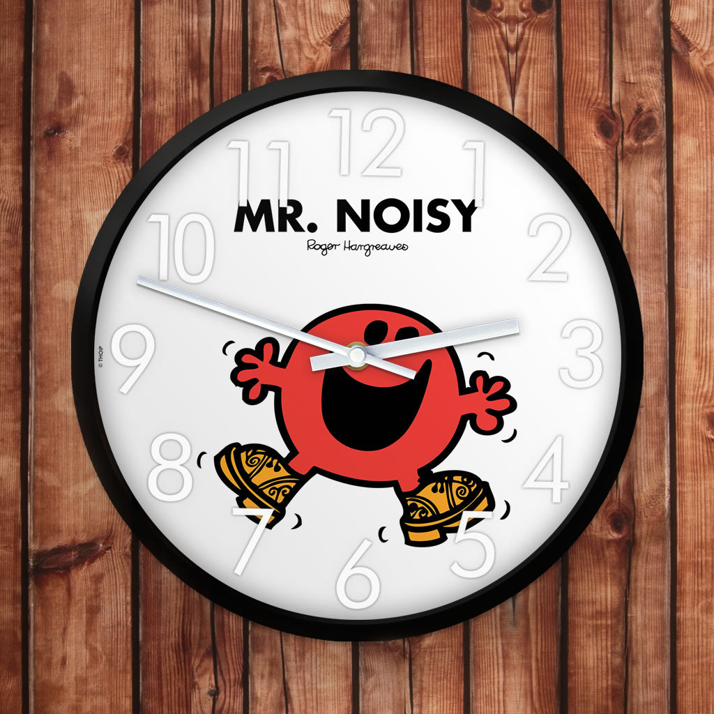 Mr. Noisy Personalised Clock (Lifestyle)