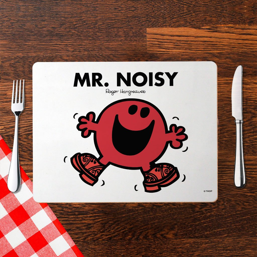 Mr. Noisy Cork Placemat (Lifestyle)