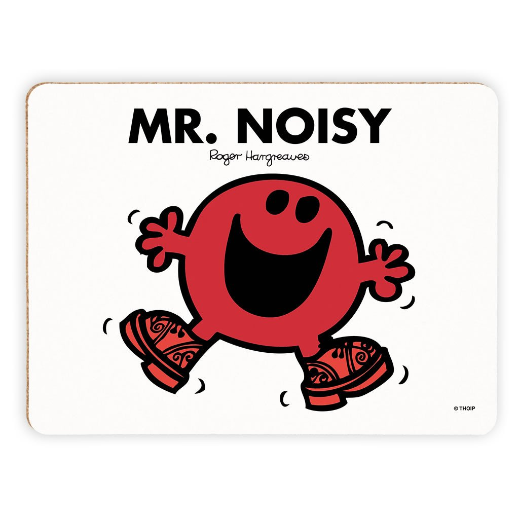 Mr. Noisy Cork Placemat