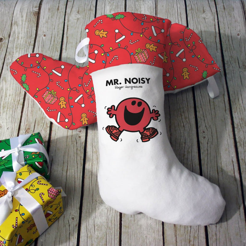 Mr. Noisy Christmas Stocking (Lifestyle)