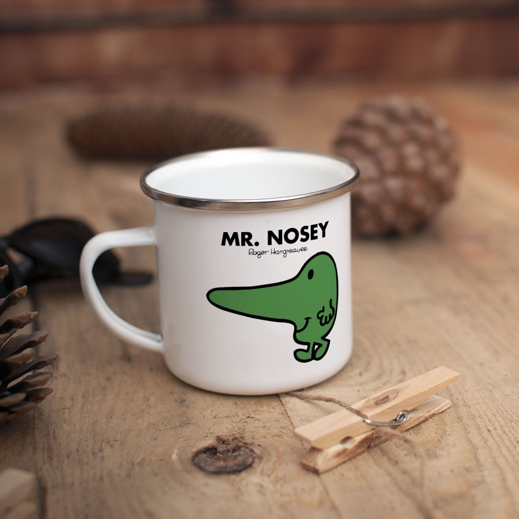 Mr. Nosey Children's Mug (Lifestyle)