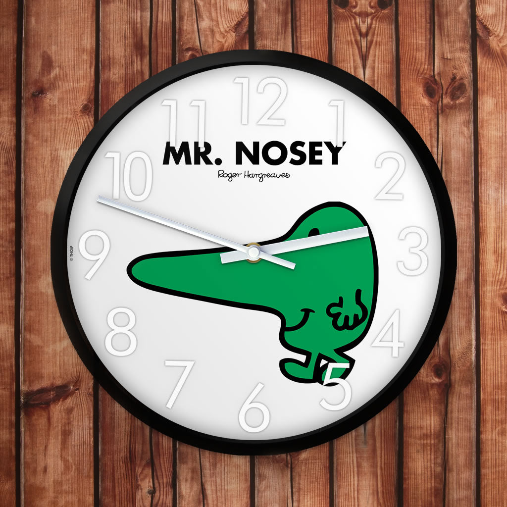 Mr. Nosey Personalised Clock (Lifestyle)