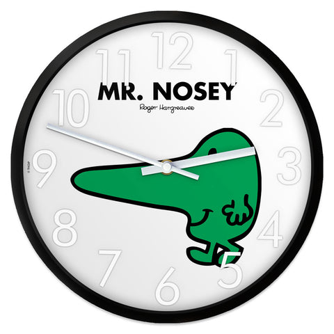 Mr. Nosey Personalised Clock