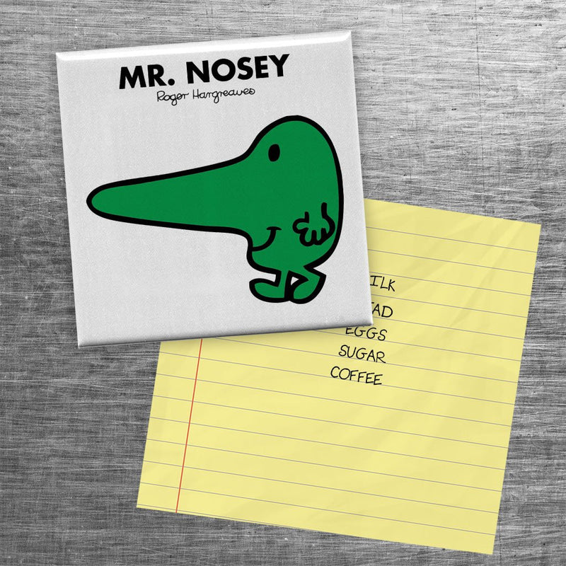 Mr. Nosey Square Magnet (Lifestyle)