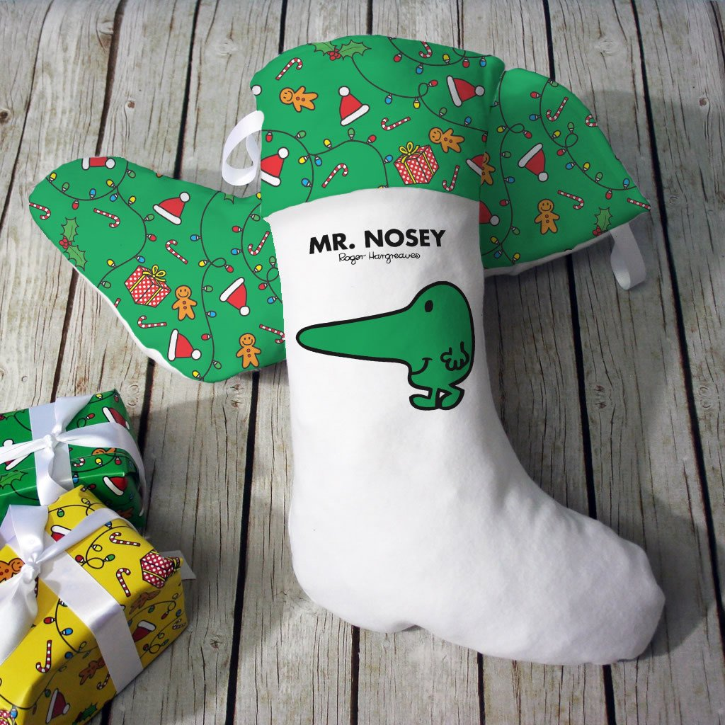 Mr. Nosey Christmas Stocking (Lifestyle)