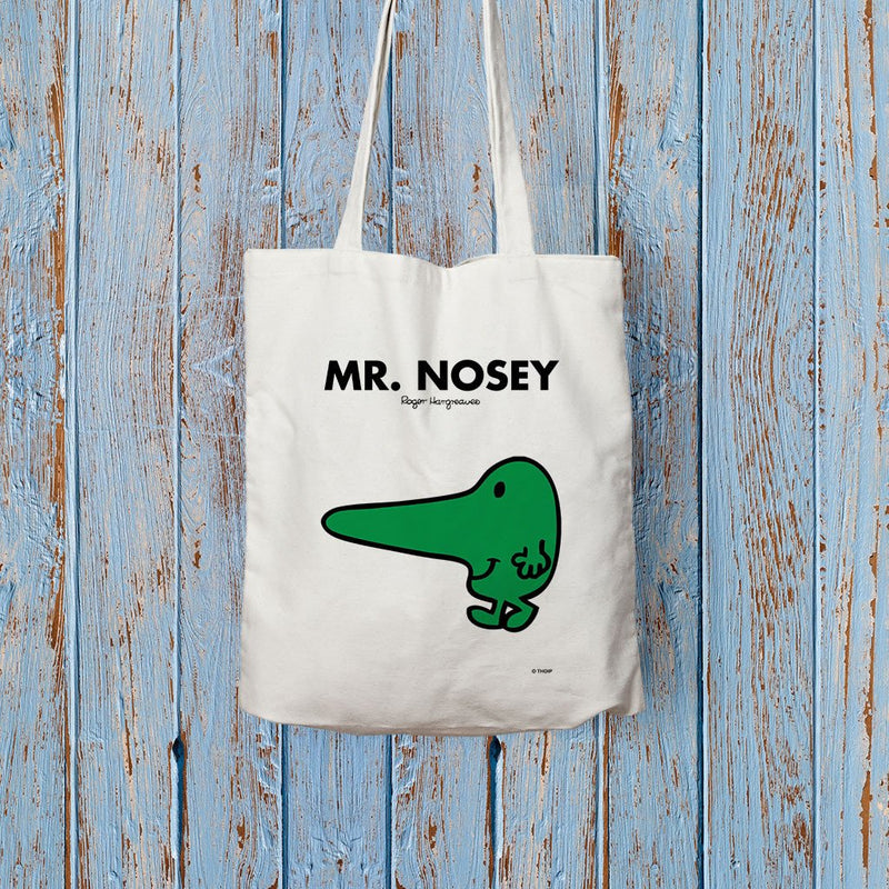 Mr. Nosey Long Handled Tote Bag (Lifestyle)