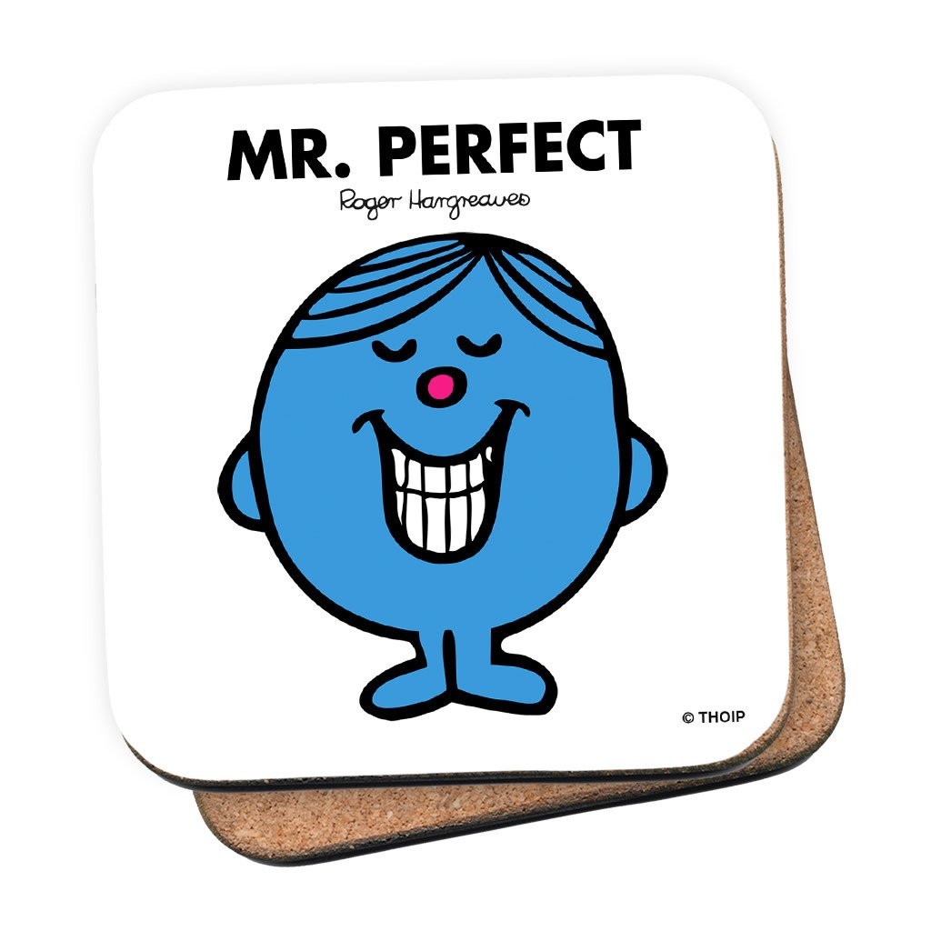 Mr. Perfect Cork Coaster