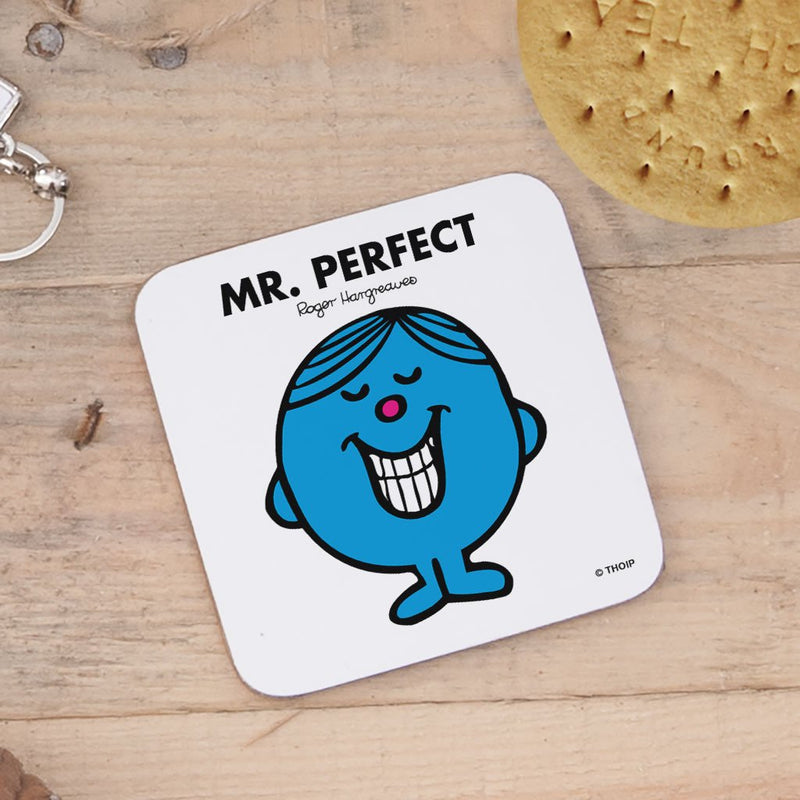 Mr. Perfect Cork Coaster (Lifestyle)