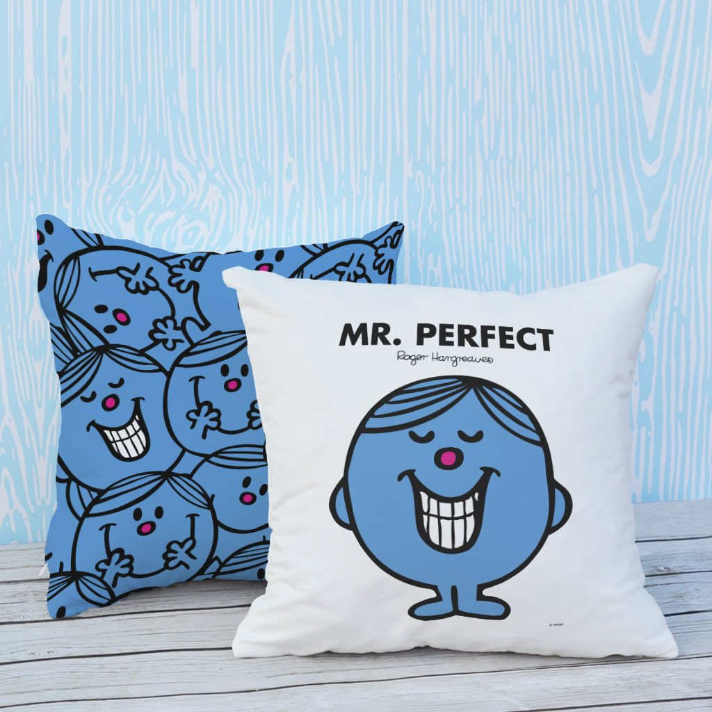 Mr. Perfect Micro Fibre Cushion (Lifestyle)