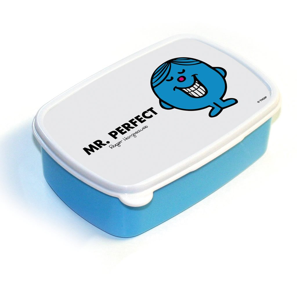 Mr. Perfect Lunchbox (Blue)