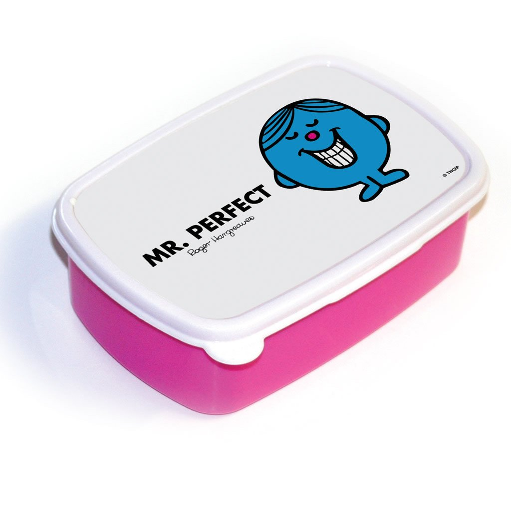 Mr. Perfect Lunchbox (Pink)
