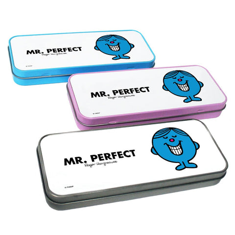 Mr. Perfect Pencil Case Tin