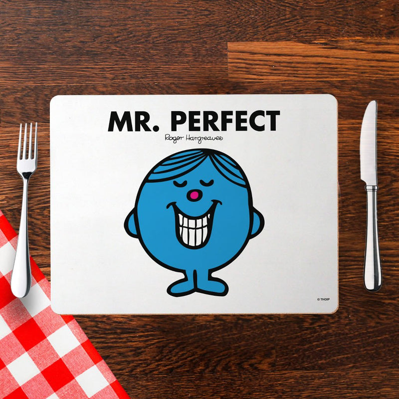 Mr. Perfect Cork Placemat (Lifestyle)