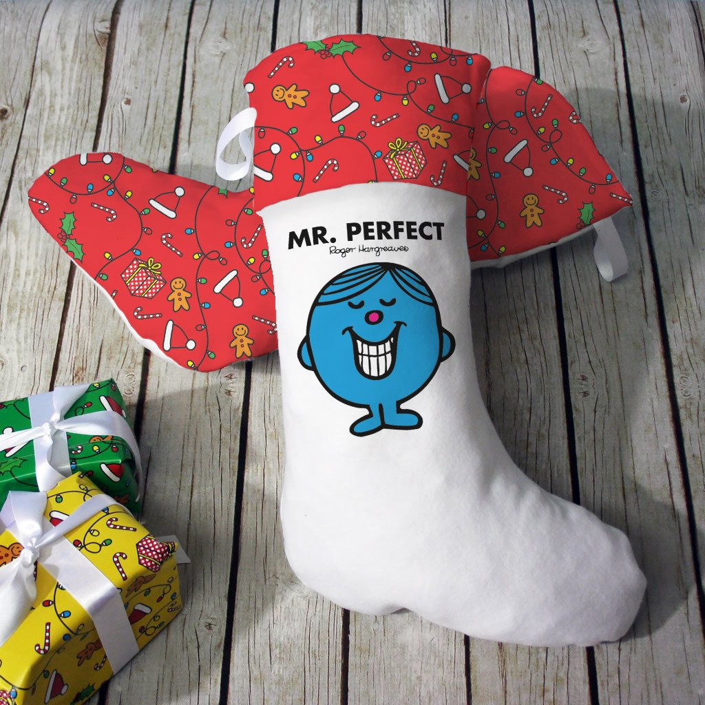 Mr. Perfect Christmas Stocking (Lifestyle)