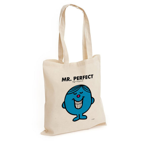 Mr. Perfect Long Handled Tote Bag