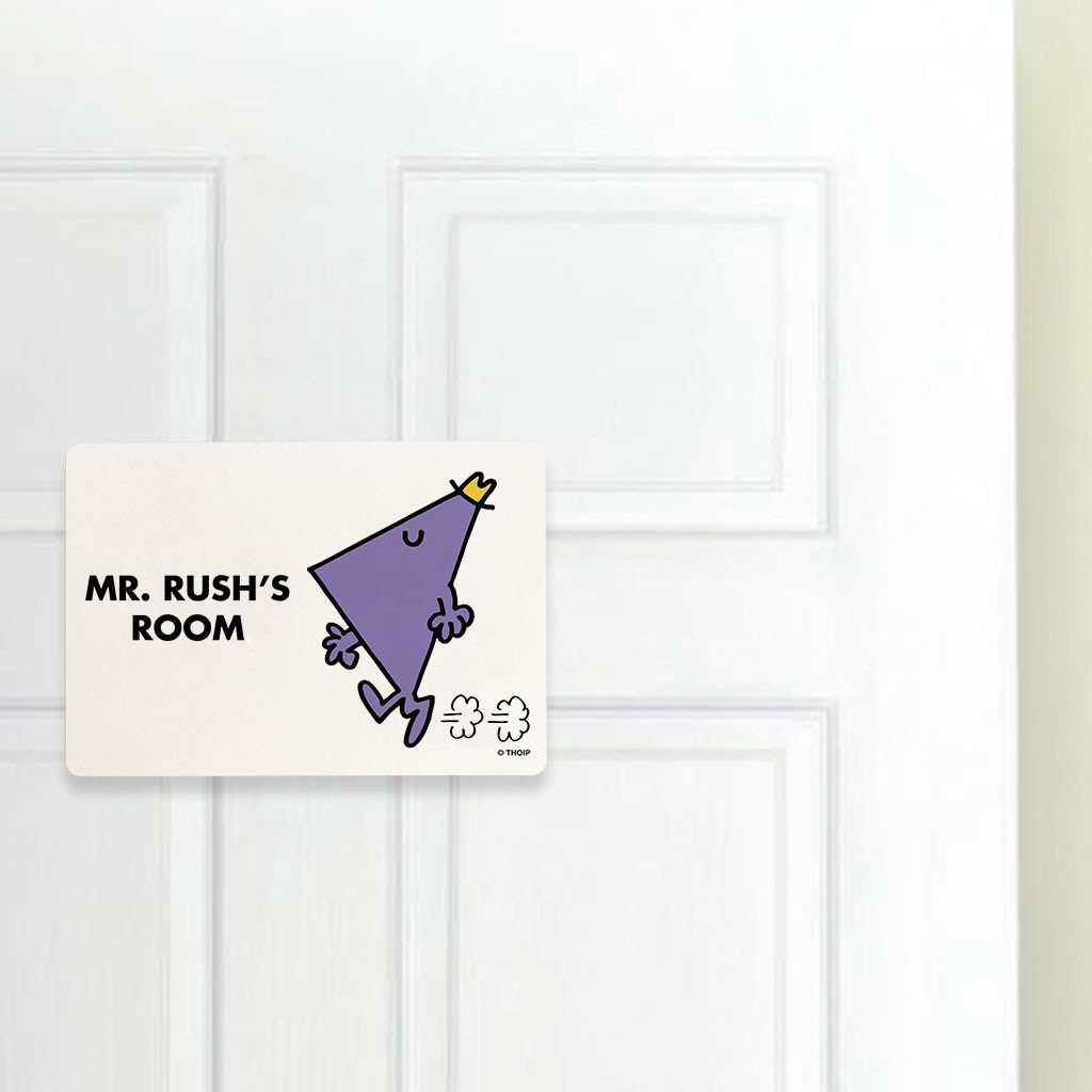 Mr. Rush Door Plaque (Lifestyle)