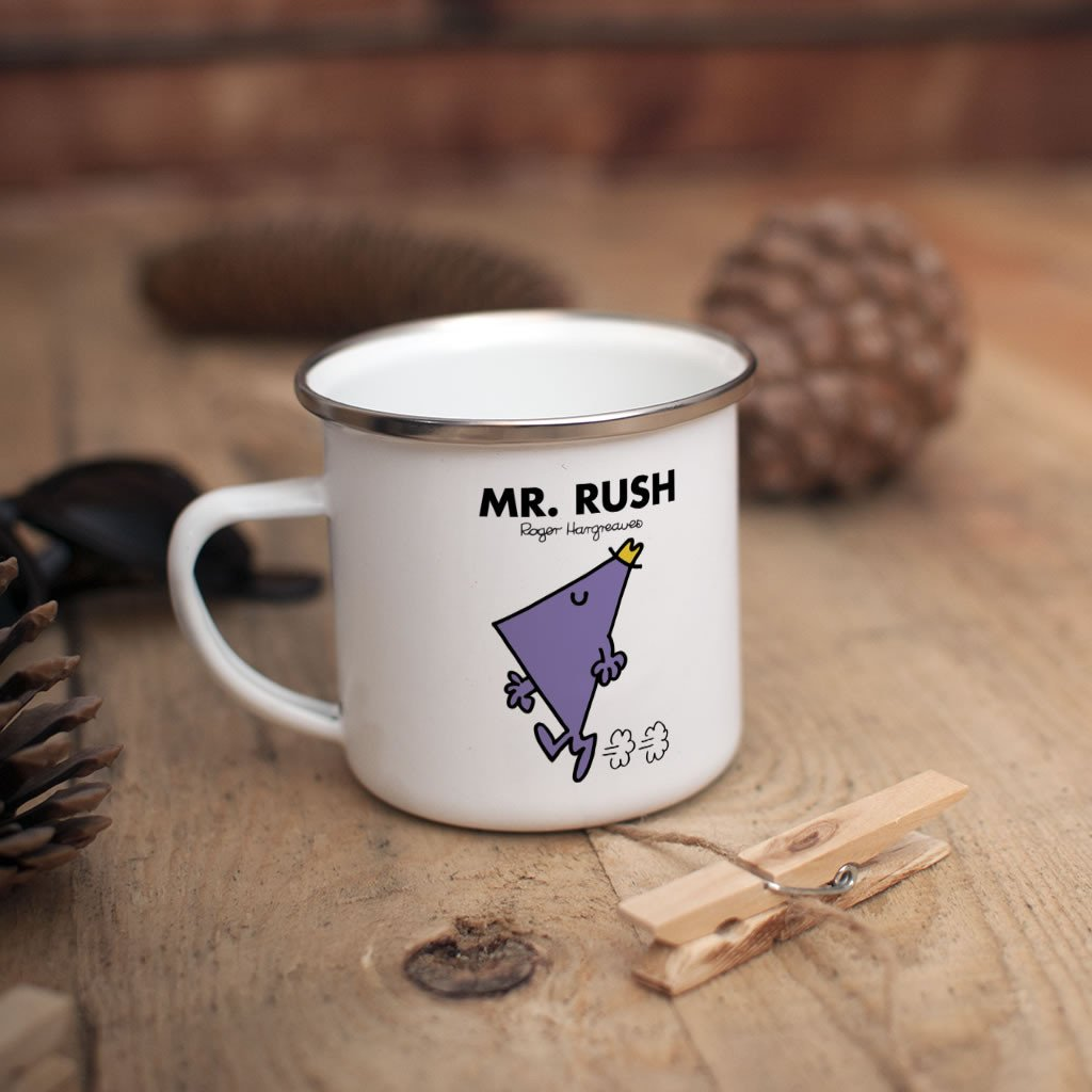 Mr. Rush Children's Mug (Lifestyle)