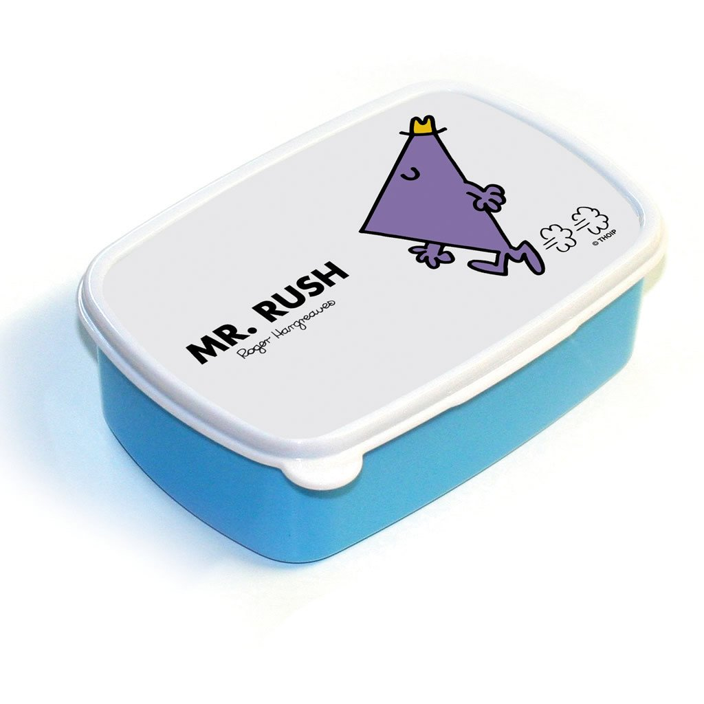 Mr. Rush Lunchbox (Blue)
