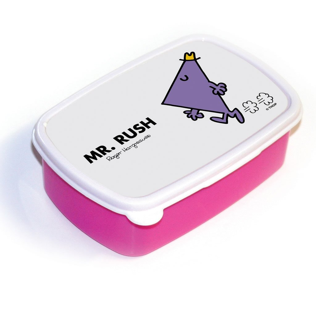 Mr. Rush Lunchbox (Pink)