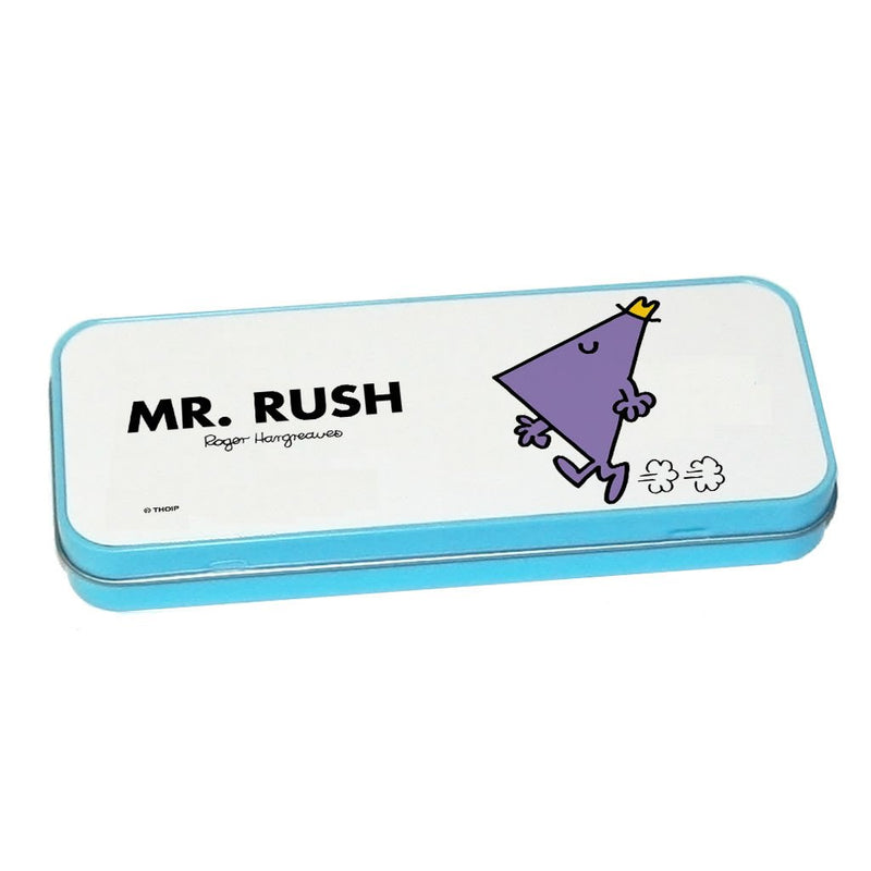 Mr. Rush Pencil Case Tin (Blue)