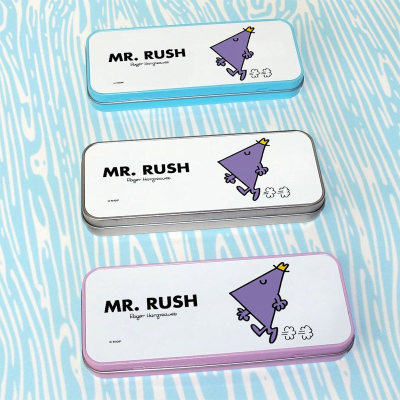 Mr. Rush Pencil Case Tin (Lifestyle)