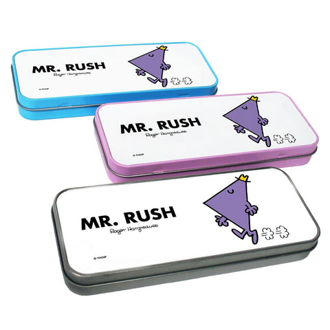 Mr. Rush Pencil Case Tin