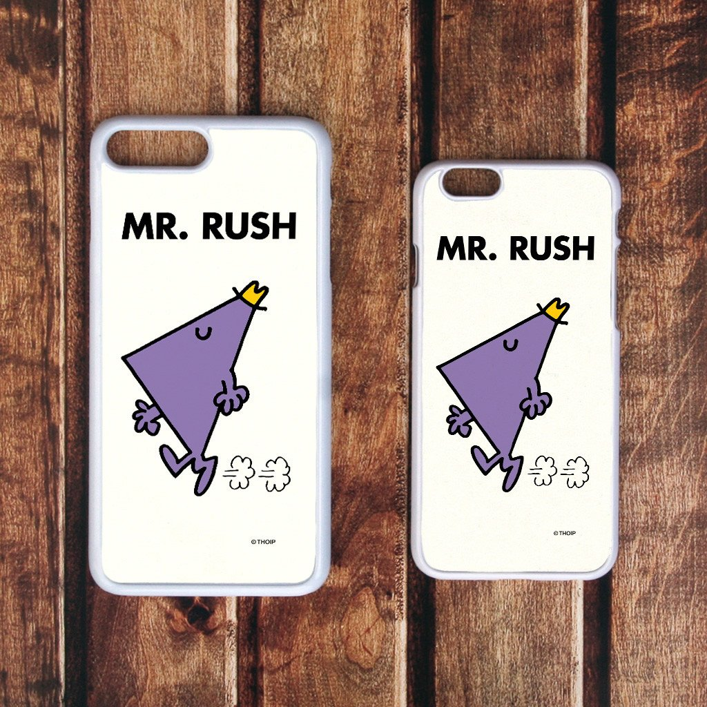 Mr. Rush White Phone Case (Lifestyle)
