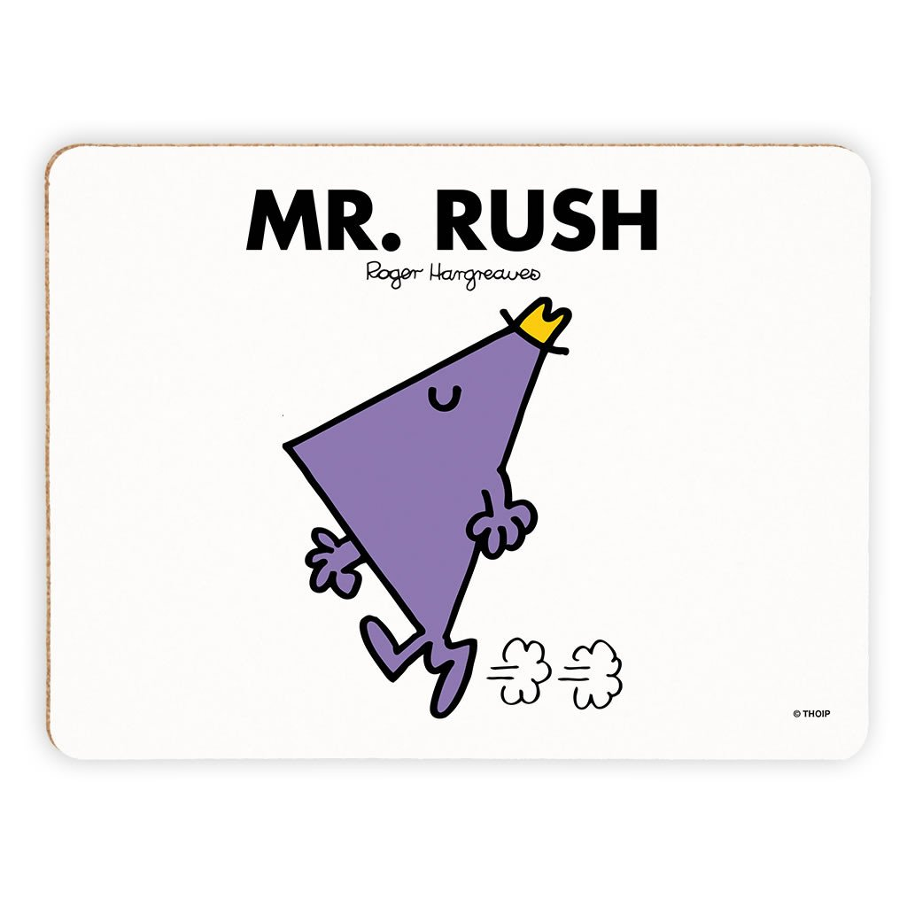 Mr. Rush Cork Placemat