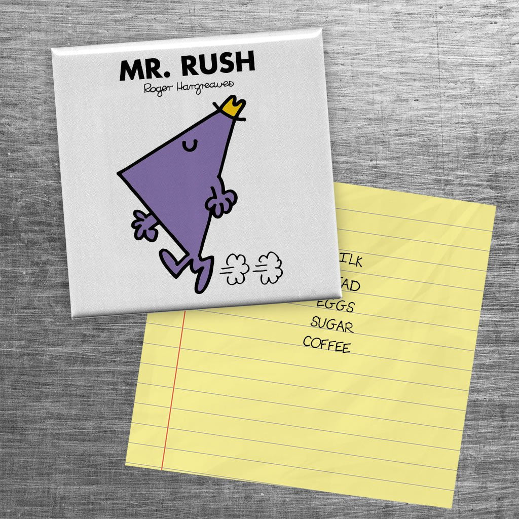 Mr. Rush Square Magnet (Lifestyle)