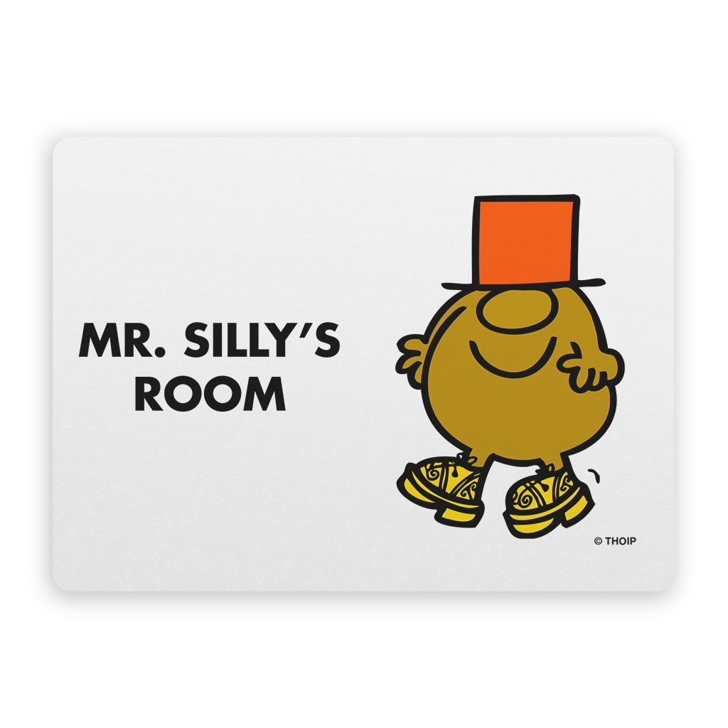 Mr. Silly Door Plaque