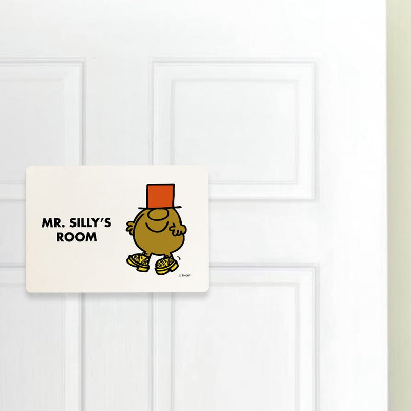 Mr. Silly Door Plaque (Lifestyle)