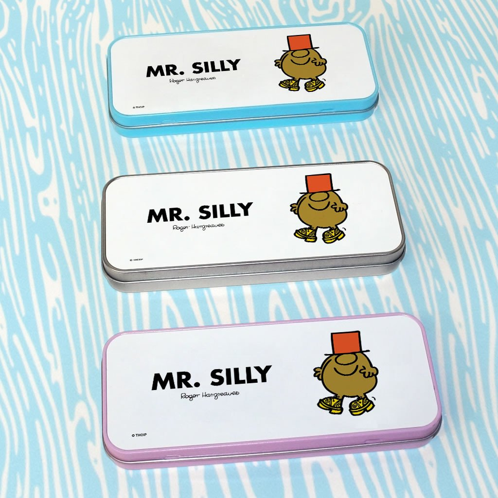 Mr. Silly Pencil Case Tin (Lifestyle)