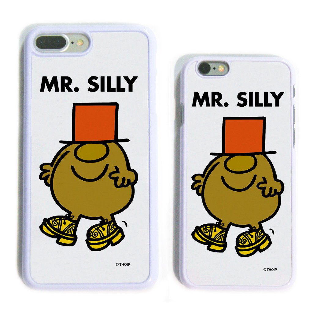Mr. Silly White Phone Case