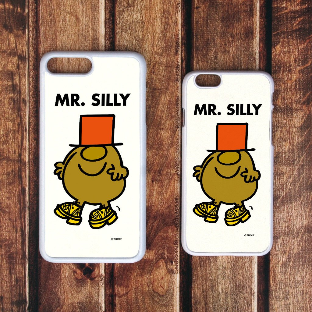 Mr. Silly White Phone Case (Lifestyle)