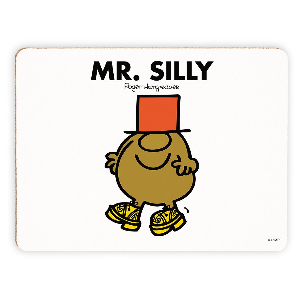 Mr. Silly Cork Placemat