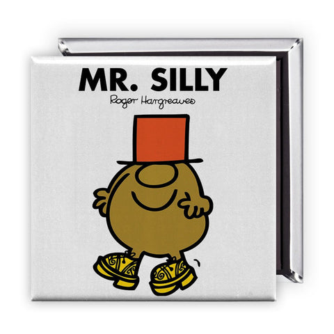 Mr. Silly Square Magnet